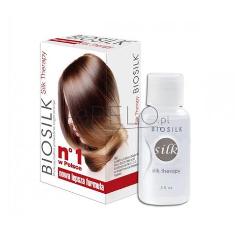 Biosilk Silk Therapy serum jedwabne do włosów 15ml