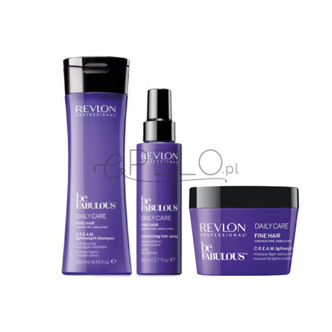 Revlon Professional Be Fabulous Fine Hair Zestaw