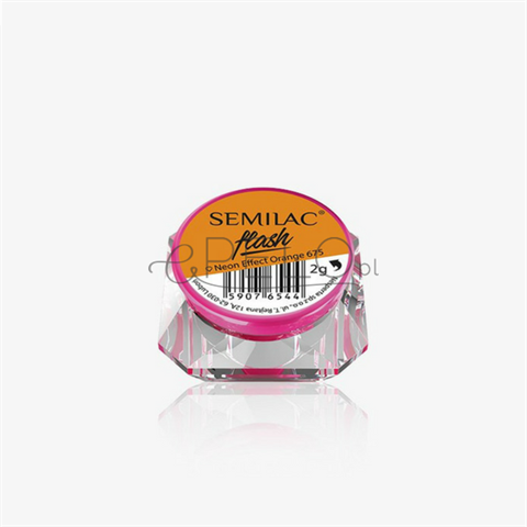 Semilac Semi Flash Neon Effect 675 Orange 0,5g