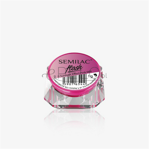 Semilac Semi Flash Sunlight Effect 669 Effect Pink 0,1g